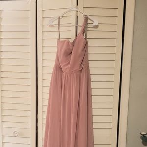 Alfred Angelo one shoulder bridesmaid gown